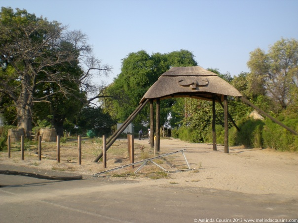 Entrance to the Village Chief's Residence