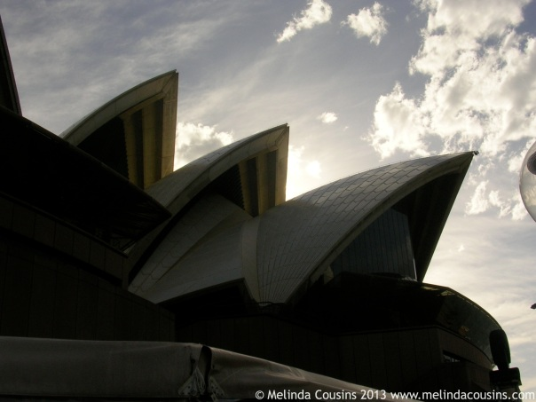 The recently turned 40 Sydney Opera House