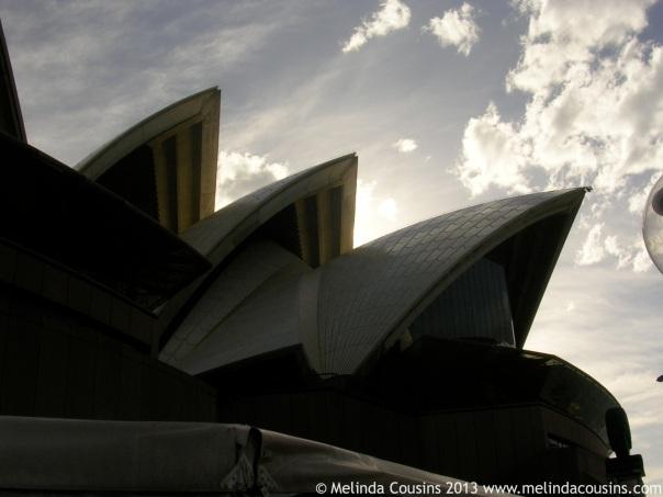 The recently turned 40 Sydney Opera House