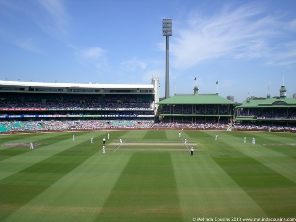 Cricket at the SCG