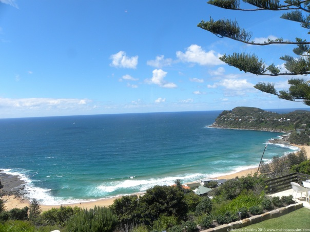 The view from Jonah's at Whale Beach