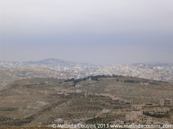 "The ""little"" town of Bethlehem today"