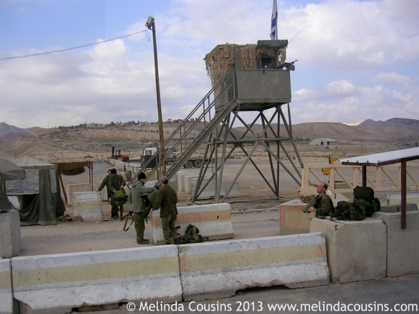 A 2005 West Bank checkpoint