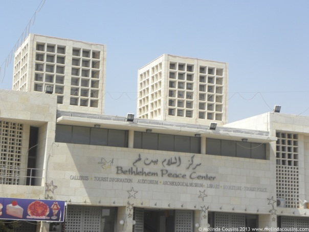 The Bethlehem Peace Centre: designed to promote peace and cultural diversity (and a good place to shop for souvenirs!)