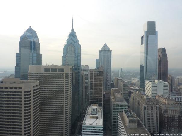Philadelphia's modern skyline