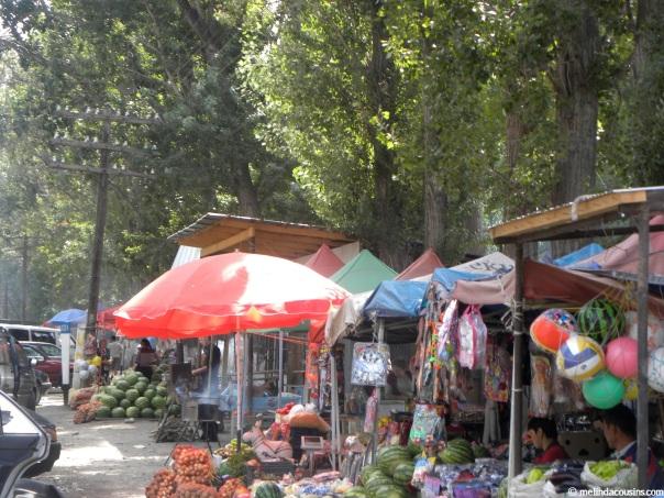 village Street market
