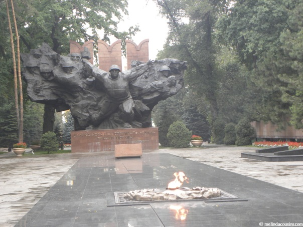 The Panfilov War Memorial