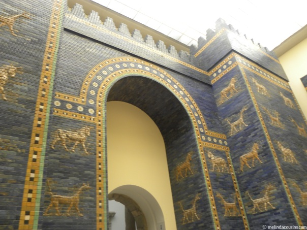 The Ishtar Gates from ancient Babylon