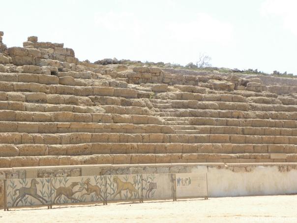 Caesarea hippodrome seats