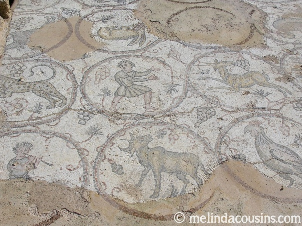 Mosaics at Caesarea