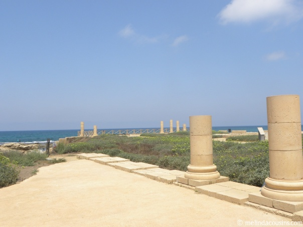 What remains today of Herod Agrippa's palace, where Paul was held