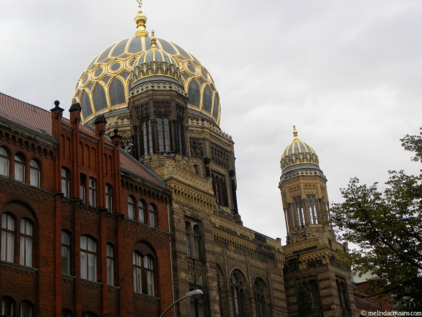The Neue Synagogue, one of the few to survive Kristallnacht