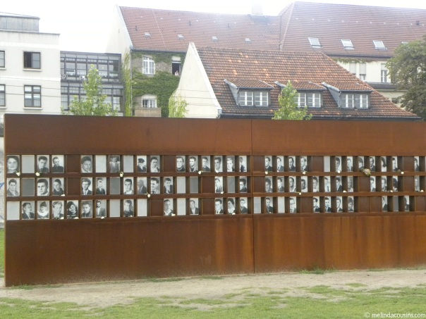 The Window of Remembrance, honouring 136 known victims of the Wall Regime