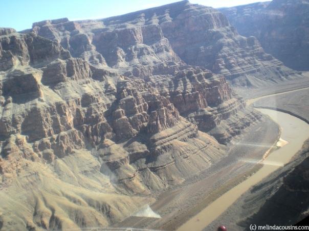 Flying over the Grand Canyon, Arizona