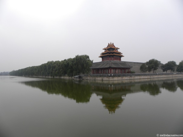 The northwest corner tower of the Forbidden City