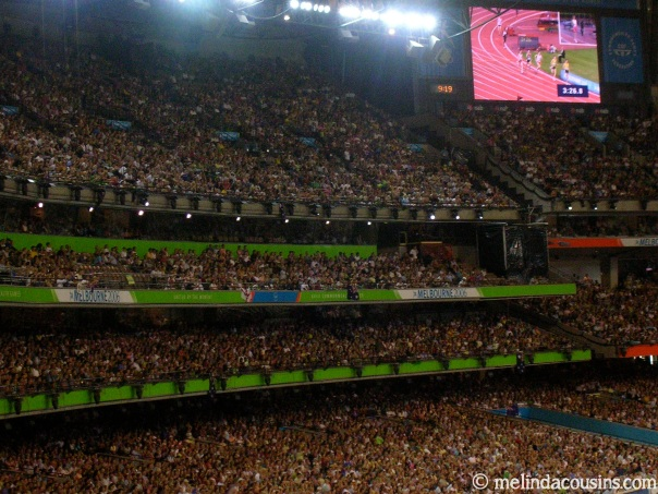 Full house at the MCG for the 2006 Commonwealth Games
