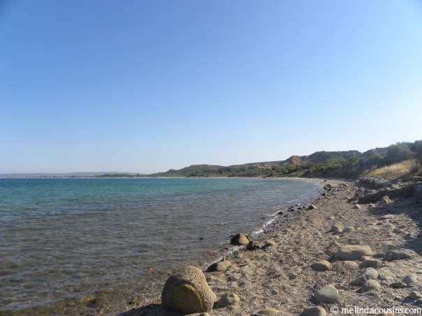 Anzac Cove landing site