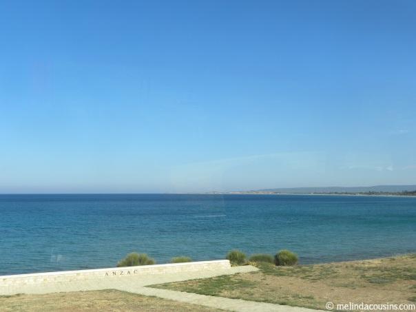 Anzac Cove, Gallipoli, Turkey