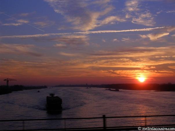 Netherlands sunrise