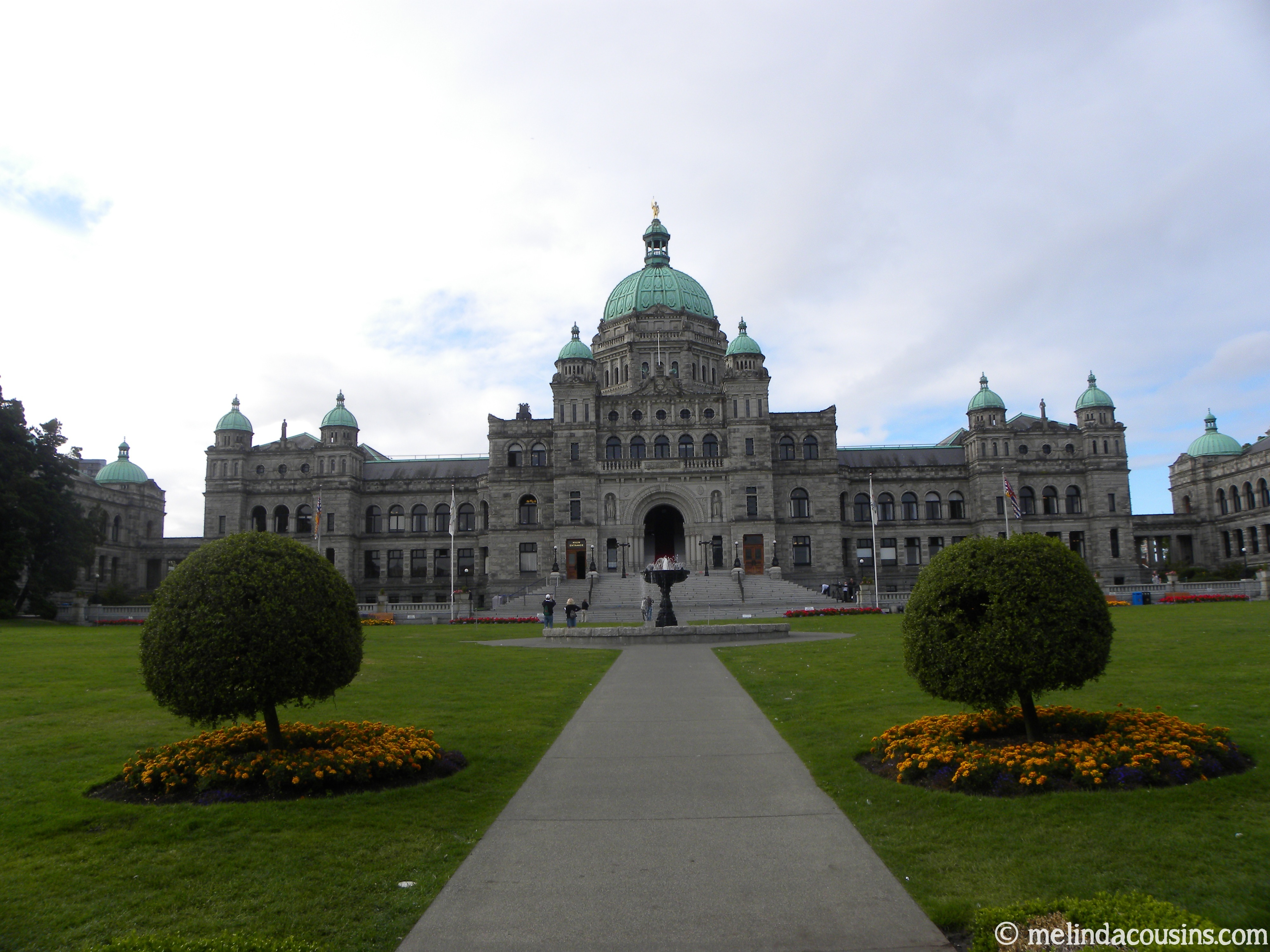 Bc Parliament Building Day