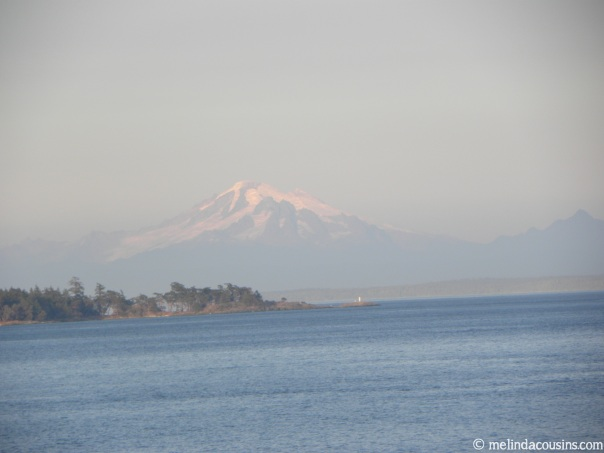 Mountain view from Ferry