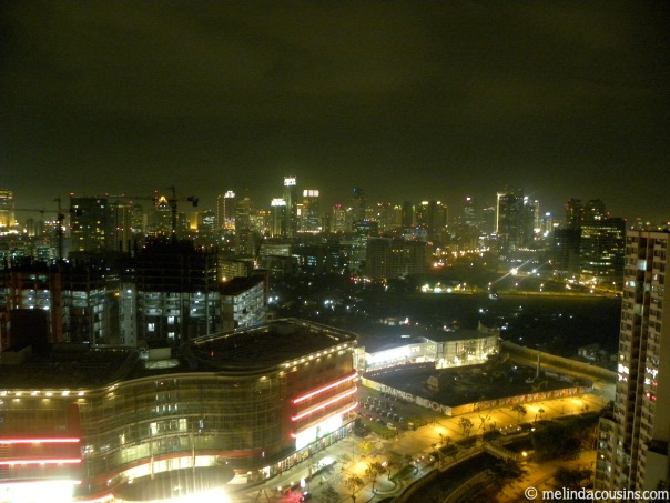 Just a small part of the Jakarta night skyline