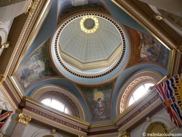 Inside the Parliament Rotunda