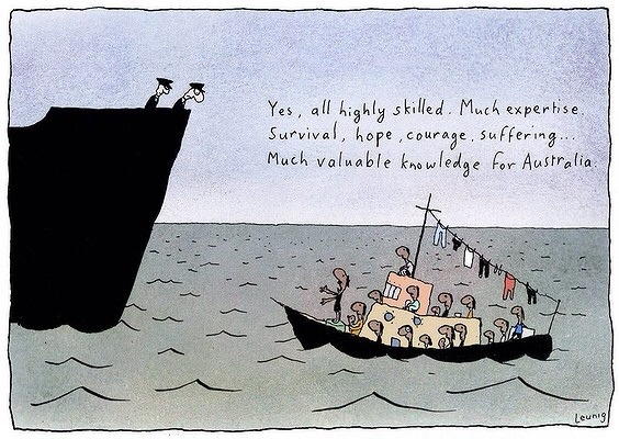 Image Copyright Michael Leunig/The Age http://www.theage.com.au/photogallery/national/cartoons-for-wednesday-15-august-20120814-246ud.html