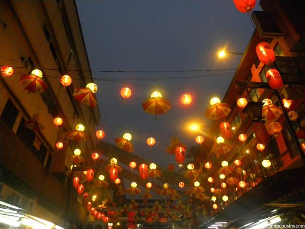 The lanterns of Chinatown