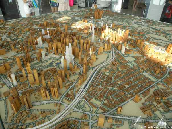 Scale model of the city