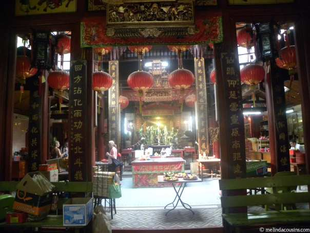 The city's oldest Chinese temple (Tao/Buddhist)