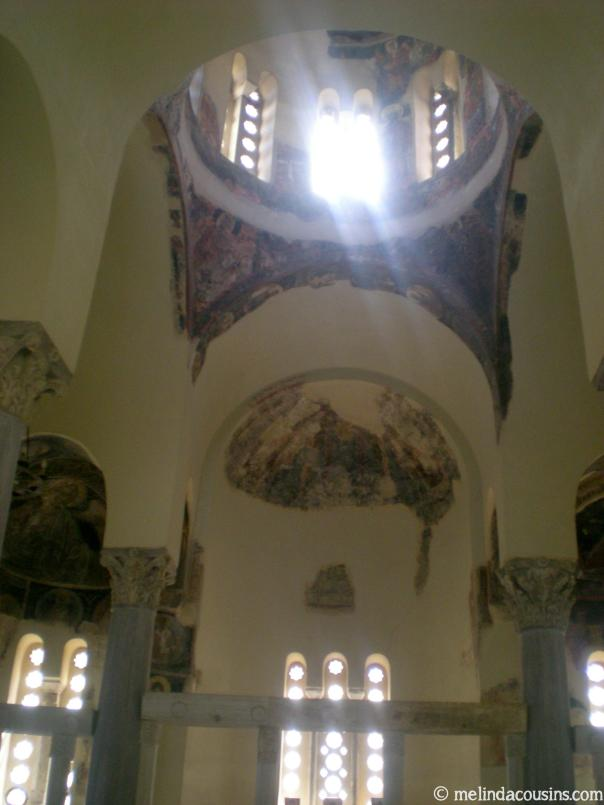 Church of the holy apostles inside