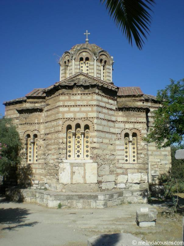 CHurch of the holy apostles outside