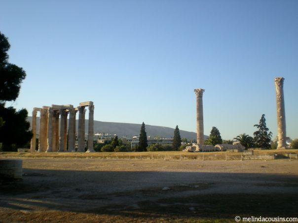 Olympus ruins