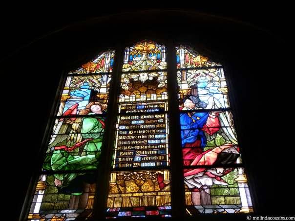 Window in Wittenberg Castle Church