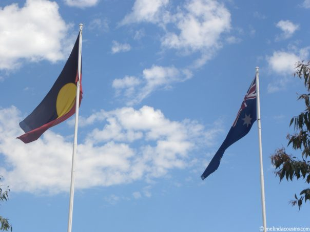 Flags flying 1