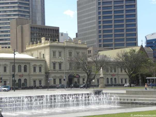 Fountain north