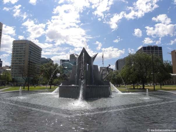 Fountain south