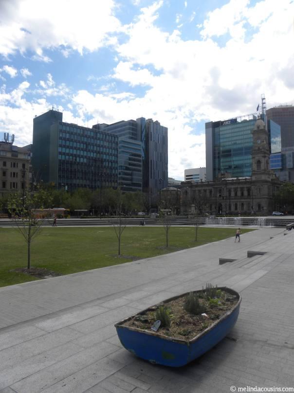 Square north