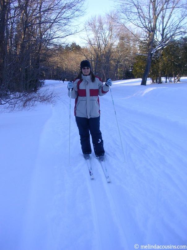 2005-02-12 Skiing Melinda
