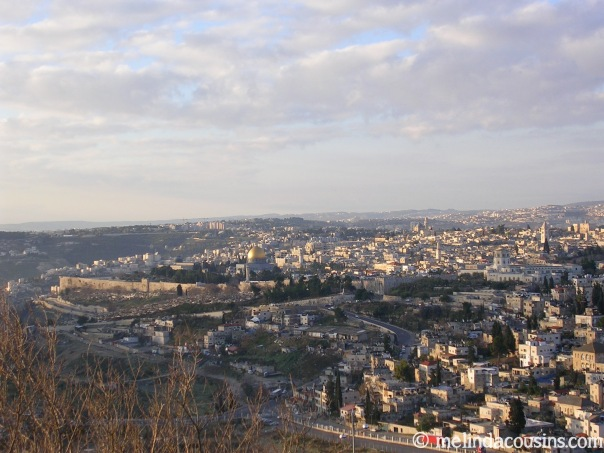 Mt Scopus view over Jerusalem