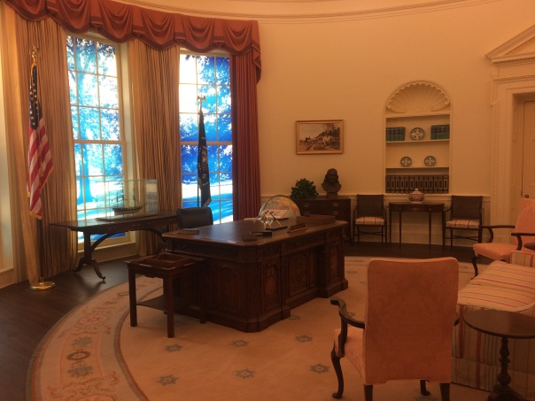 Reproduction of Carter Oval Office
