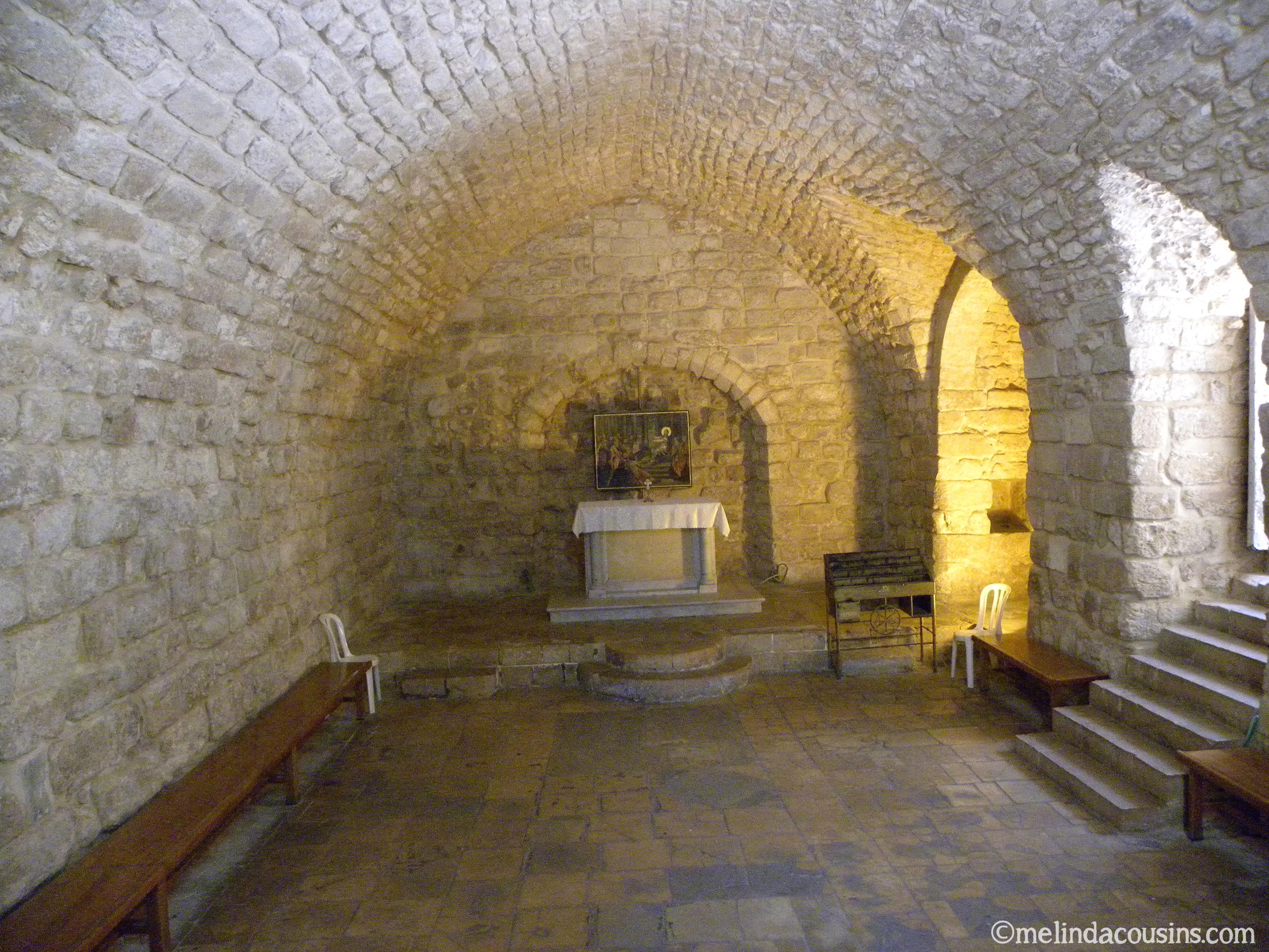 Ancient Nazareth Inside Houses