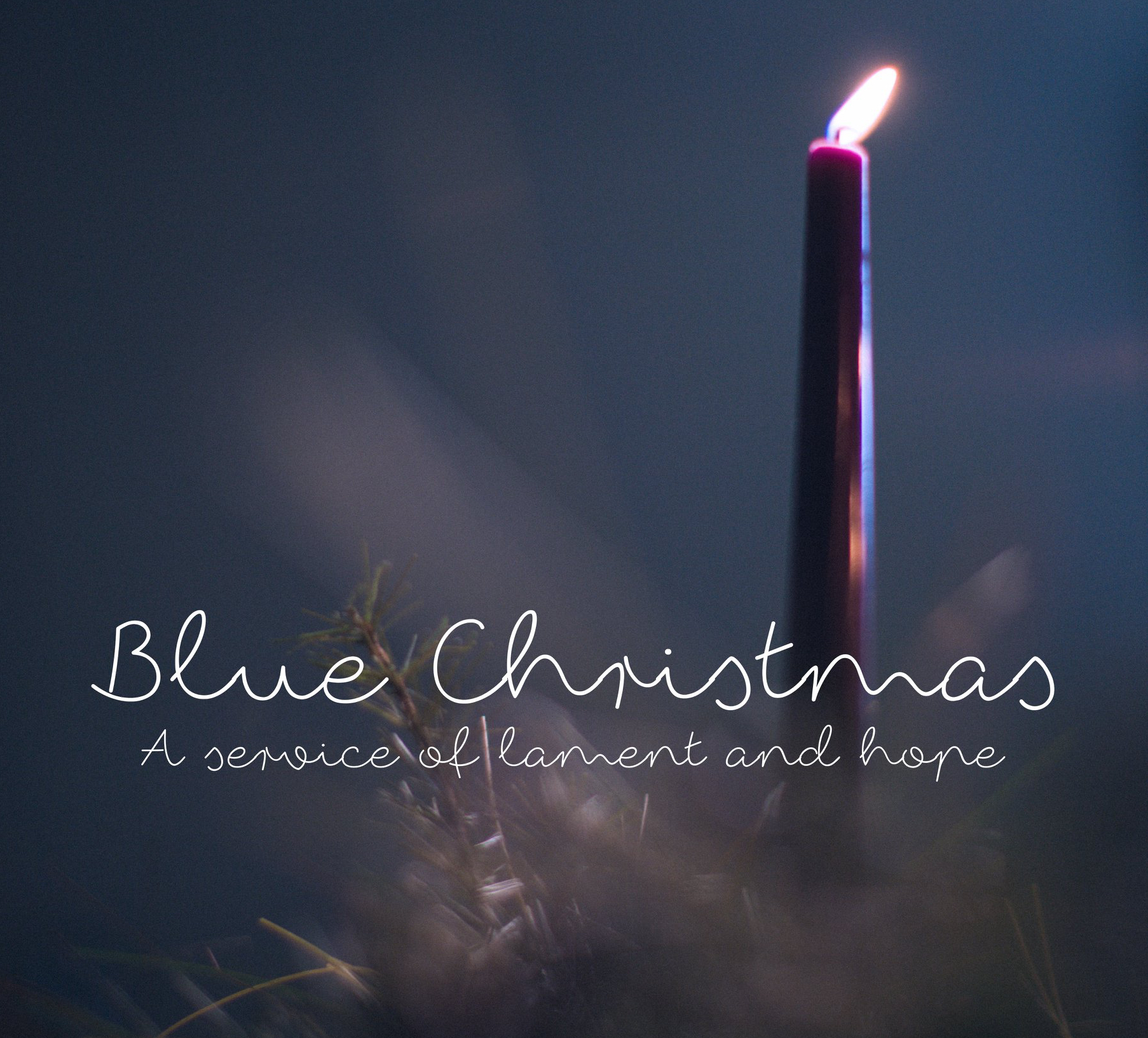 Blue Christmas: Lament and Hope | Thinking Out Loud …